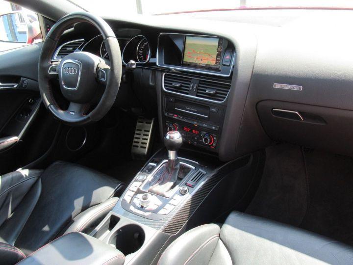 Audi RS5 4.2 V8 FSI 450CH QUATTRO S TRONIC 7 Rouge - 11