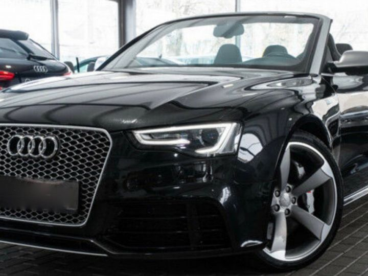 Audi RS5 CABRIO 4.2 FSI 450 QUATTRO Noir métallisé - 1