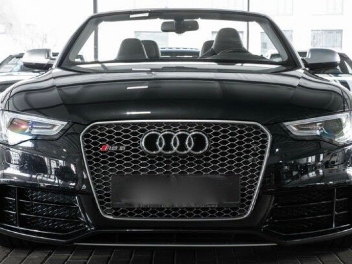 Audi RS5 CABRIO 4.2 FSI 450 QUATTRO Noir métallisé - 2