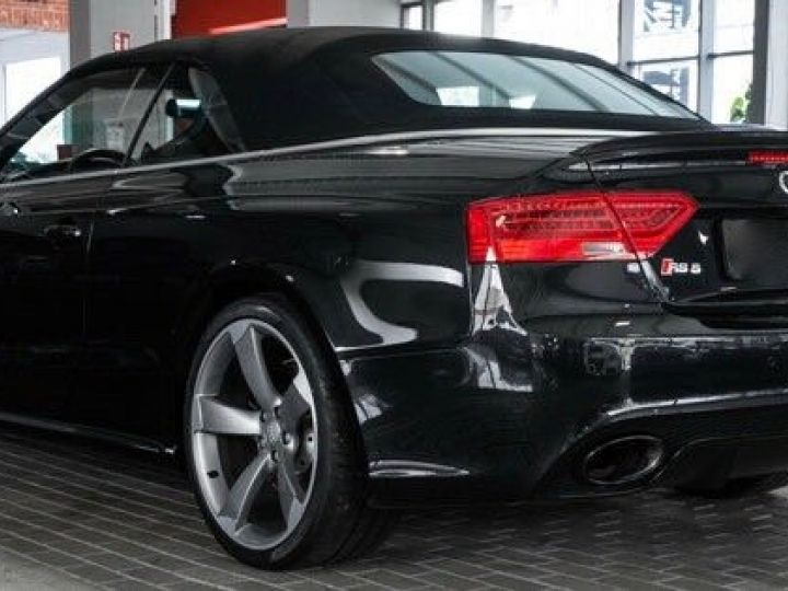 Audi RS5 CABRIO 4.2 FSI 450 QUATTRO Noir métallisé - 3