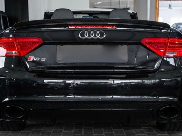 Audi RS5 CABRIO 4.2 FSI 450 QUATTRO Noir métallisé - 5