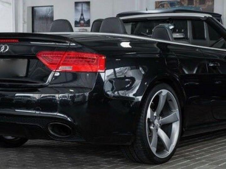 Audi RS5 CABRIO 4.2 FSI 450 QUATTRO Noir métallisé - 6