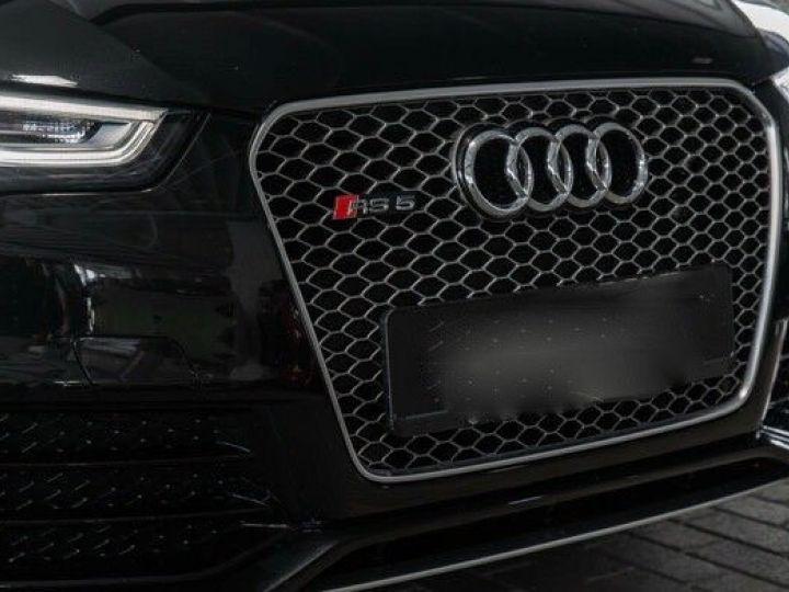 Audi RS5 CABRIO 4.2 FSI 450 QUATTRO Noir métallisé - 8