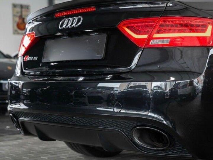 Audi RS5 CABRIO 4.2 FSI 450 QUATTRO Noir métallisé - 9