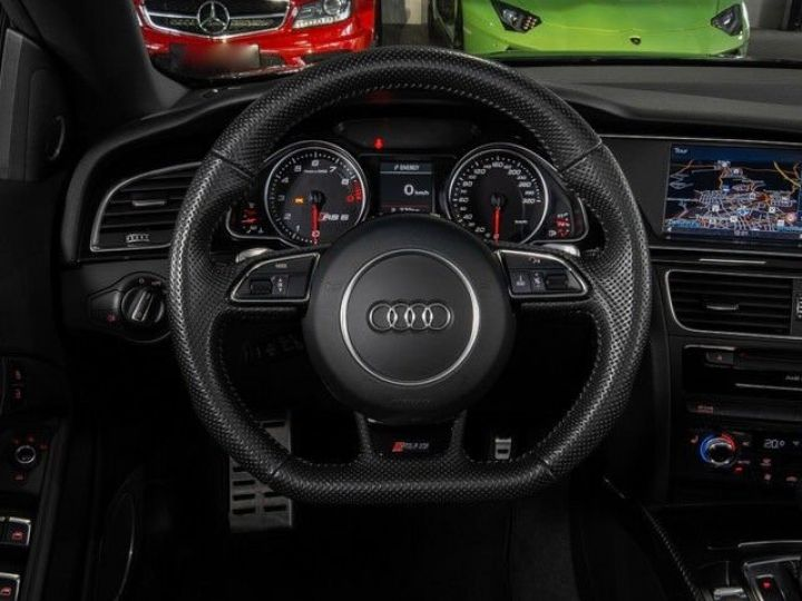 Audi RS5 CABRIO 4.2 FSI 450 QUATTRO Noir métallisé - 10