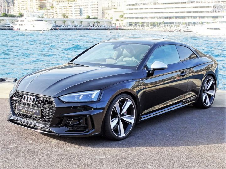 Audi RS5 COUPE QUATTRO 2.9 TFSI 450 CV BLACK EDITION - MONACO Noir Métal - 1
