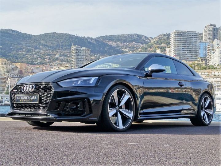 Audi RS5 COUPE QUATTRO 2.9 TFSI 450 CV BLACK EDITION - MONACO Noir Métal - 11