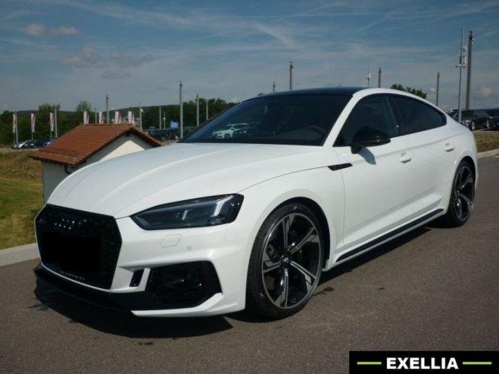 Audi RS5 Sportback  BLANC METALISEE Occasion - 1