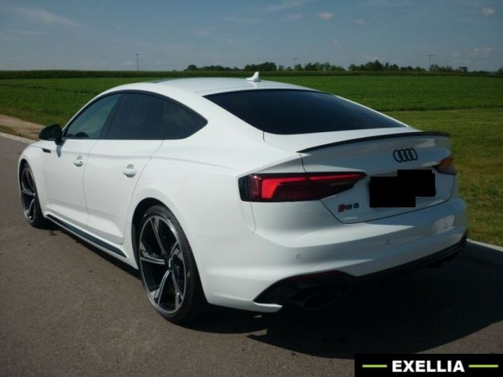 Audi RS5 Sportback  BLANC METALISEE Occasion - 4