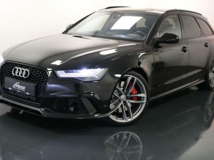 Audi RS6 noir - 1