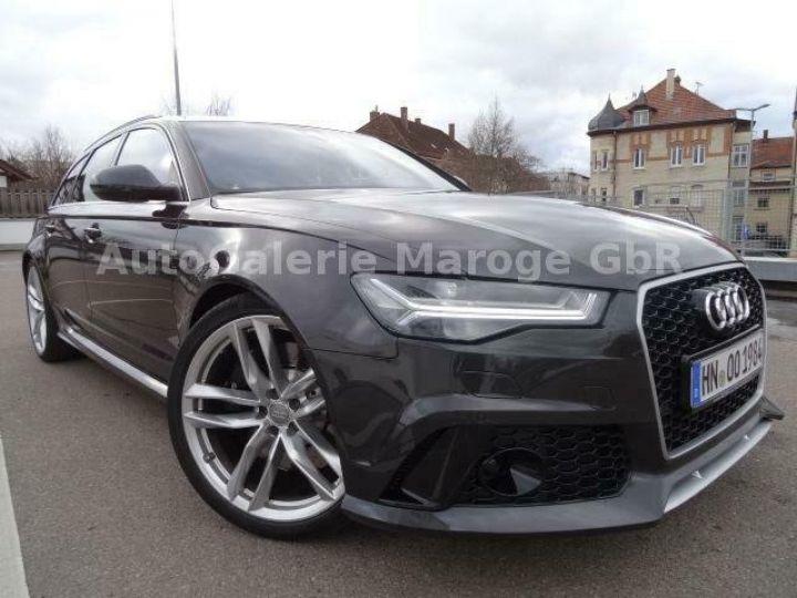Audi RS6 gris - 1