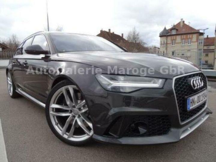 Audi RS6 Gris métallisée  - 1