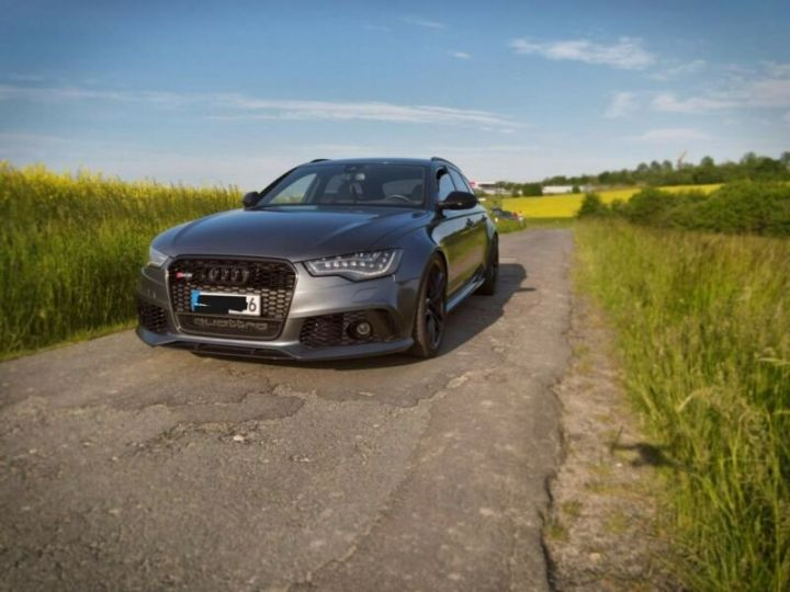 Audi RS6 Gris métallisée  - 6