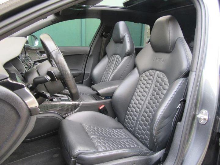 Audi RS6 4.0 TFSI 560CH TIPTRONIC GRIS DAYTONA Occasion - 4