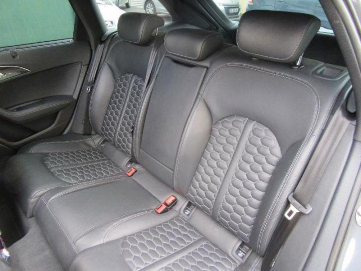 Audi RS6 4.0 TFSI 560CH TIPTRONIC GRIS DAYTONA Occasion - 8