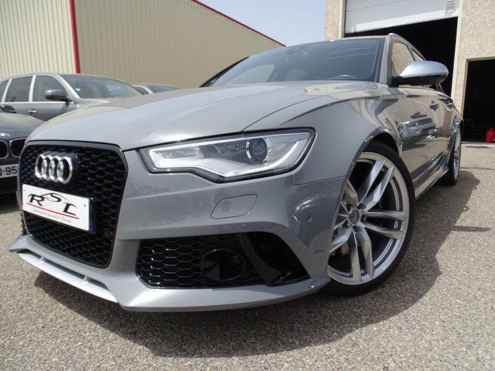 Audi RS6 4.0L 560PS TFSI Tipt/ Gris Nardo FULL Options  gris Nardo - 1
