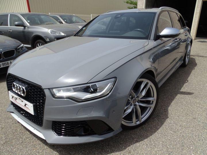 Audi RS6 4.0L 560PS TFSI Tipt/ Gris Nardo FULL Options  gris Nardo - 2