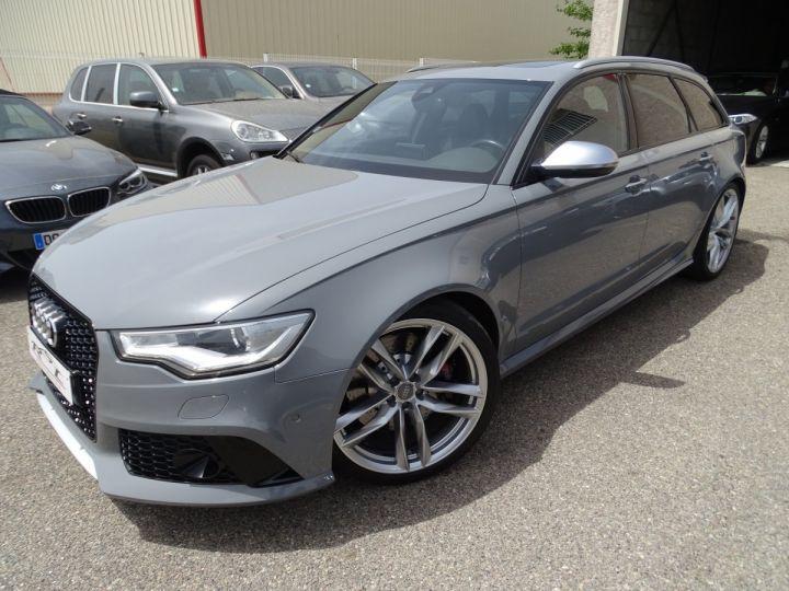 Audi RS6 4.0L 560PS TFSI Tipt/ Gris Nardo FULL Options  gris Nardo - 3