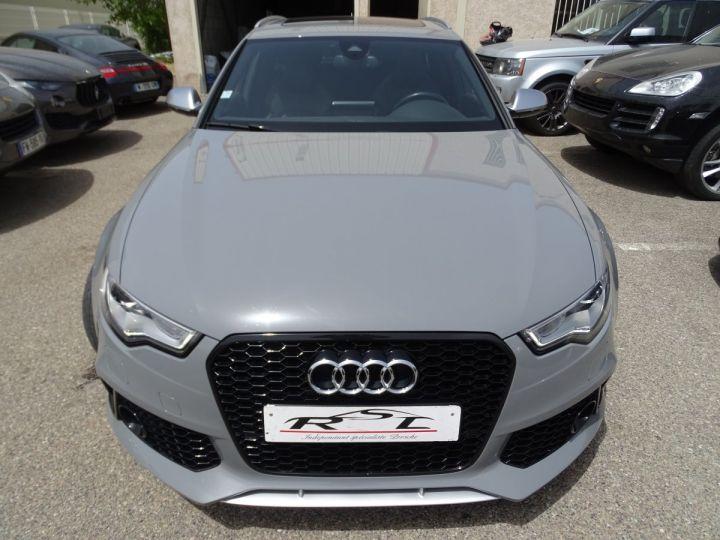 Audi RS6 4.0L 560PS TFSI Tipt/ Gris Nardo FULL Options  gris Nardo - 4