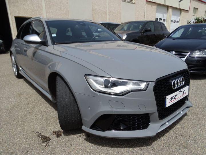 Audi RS6 4.0L 560PS TFSI Tipt/ Gris Nardo FULL Options  gris Nardo - 5