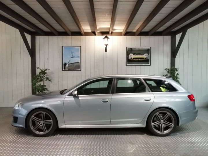 Audi RS6 5.0 FSI V10 580 CV Gris - 1