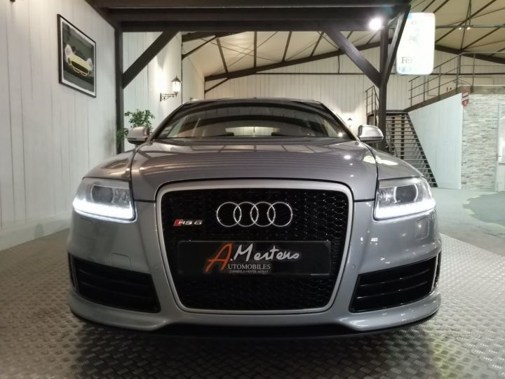 Audi RS6 5.0 FSI V10 580 CV Gris - 3