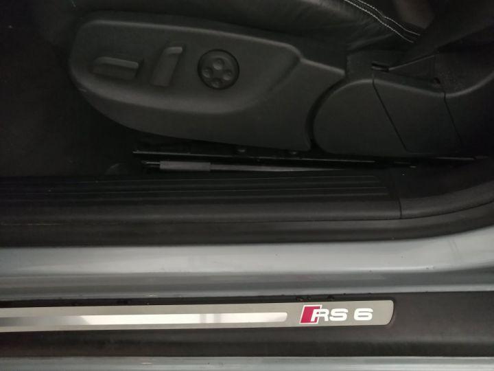 Audi RS6 5.0 FSI V10 580 CV Gris - 15