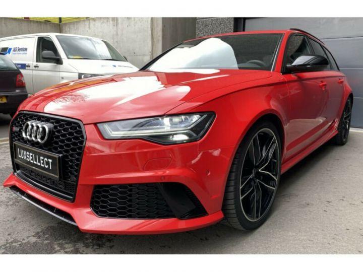 Audi RS6 Audi RS6 Quattro V8 4.0 TFSI rouge - 2