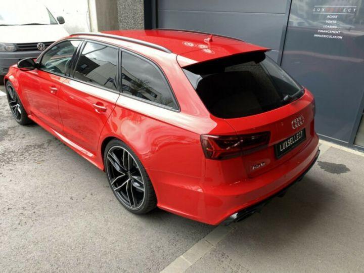 Audi RS6 Audi RS6 Quattro V8 4.0 TFSI rouge - 4