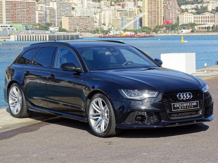 Audi RS6  AVANT 4.0 TFSI QUATTRO 560 CV- MONACO Noir Métal - 2