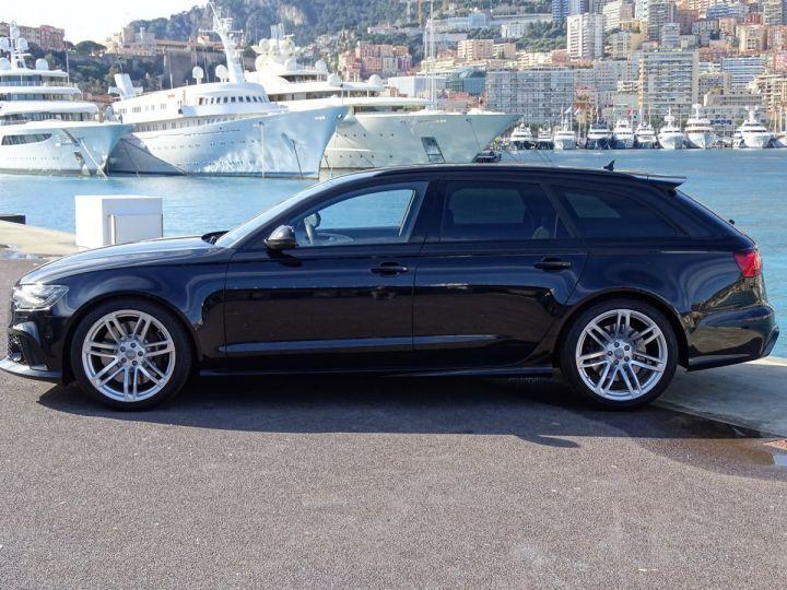 Audi RS6  AVANT 4.0 TFSI QUATTRO 560 CV- MONACO Noir Métal - 5