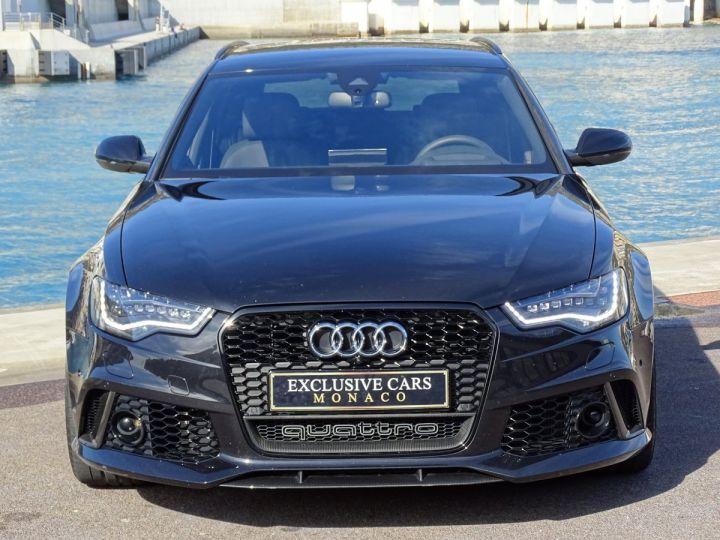 Audi RS6  AVANT 4.0 TFSI QUATTRO 560 CV- MONACO Noir Métal - 11