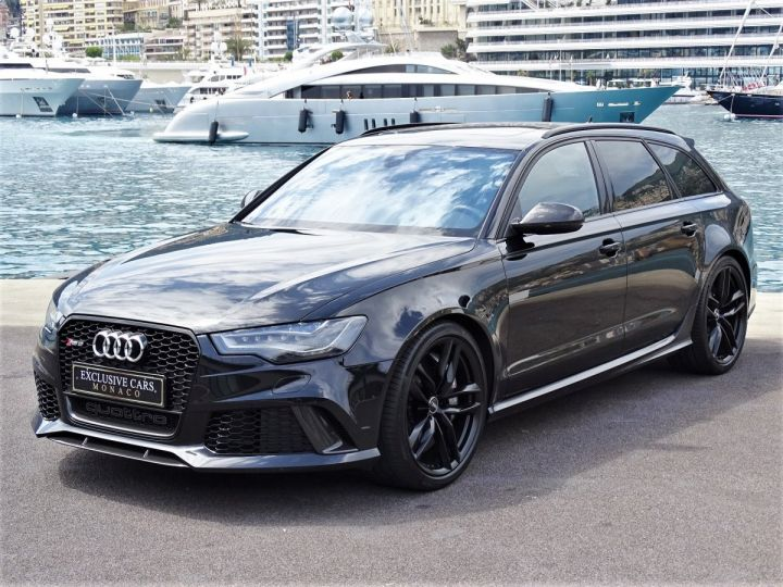 Audi RS6 AVANT 4.0 TFSI QUATTRO 560 CV - MONACO Noir Métal - 1