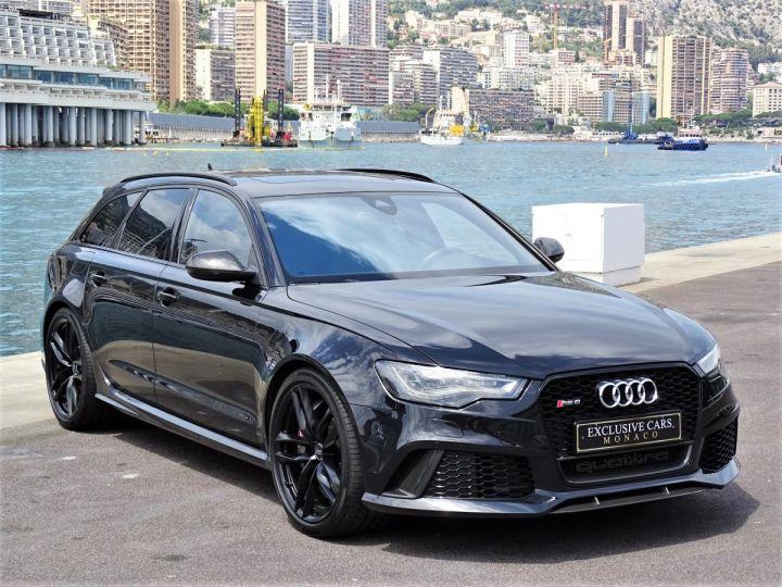 Audi RS6 AVANT 4.0 TFSI QUATTRO 560 CV - MONACO Noir Métal - 3
