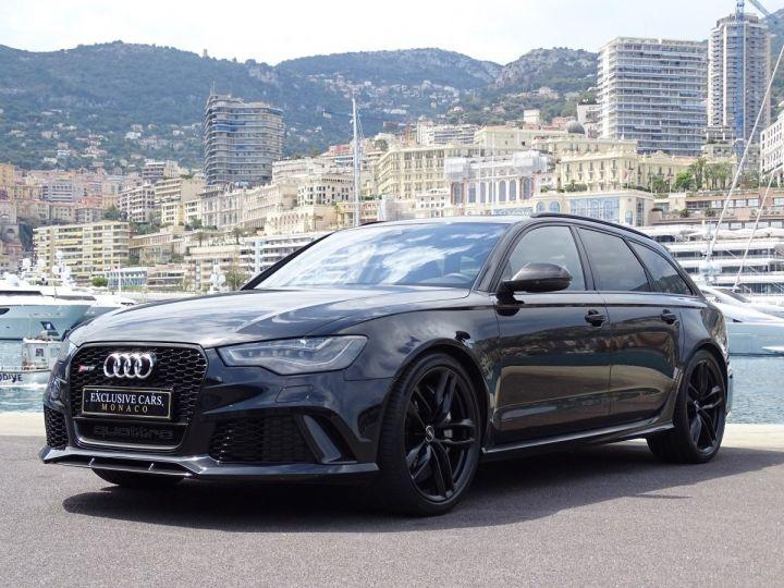 Audi RS6 AVANT 4.0 TFSI QUATTRO 560 CV - MONACO Noir Métal - 5