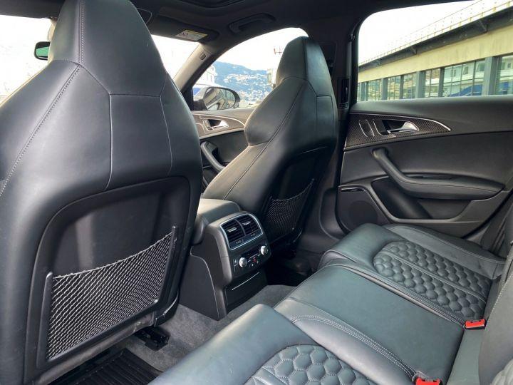 Audi RS6 AVANT 4.0 TFSI QUATTRO 560 CV - MONACO Noir Métal - 9