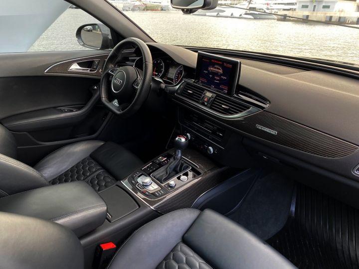 Audi RS6 AVANT 4.0 TFSI QUATTRO 560 CV - MONACO Noir Métal - 12