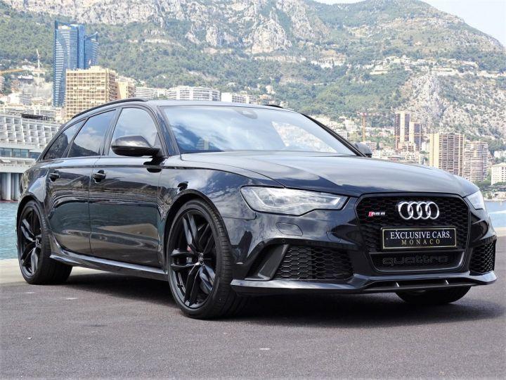 Audi RS6 AVANT 4.0 TFSI QUATTRO 560 CV - MONACO Noir Métal - 16