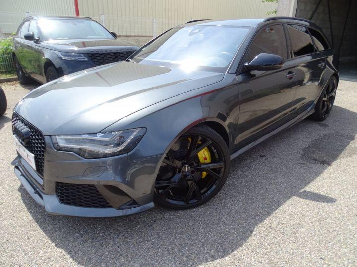 Audi RS6 AVANT 4.0L TFSI 560ps Tipt/Carbone Freins Ceramique  tete haute  gris Daytona met - 1