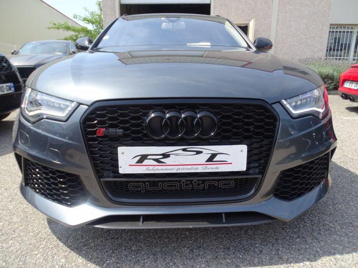 Audi RS6 AVANT 4.0L TFSI 560ps Tipt/Carbone Freins Ceramique  tete haute  gris Daytona met - 2