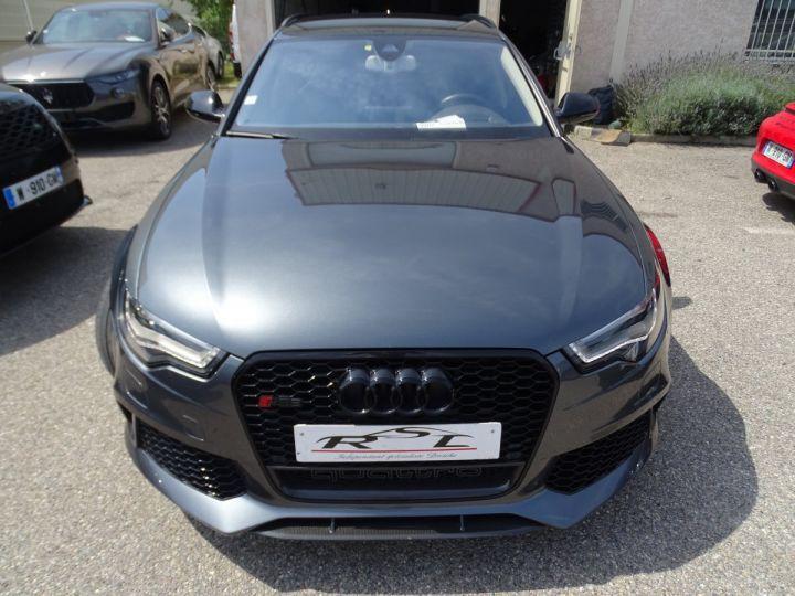 Audi RS6 AVANT 4.0L TFSI 560ps Tipt/Carbone Freins Ceramique  tete haute  gris Daytona met - 3