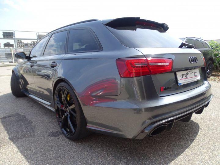 Audi RS6 AVANT 4.0L TFSI 560ps Tipt/Carbone Freins Ceramique  tete haute  gris Daytona met - 8