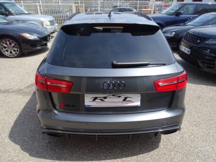 Audi RS6 AVANT 4.0L TFSI 560ps Tipt/Carbone Freins Ceramique  tete haute  gris Daytona met - 9
