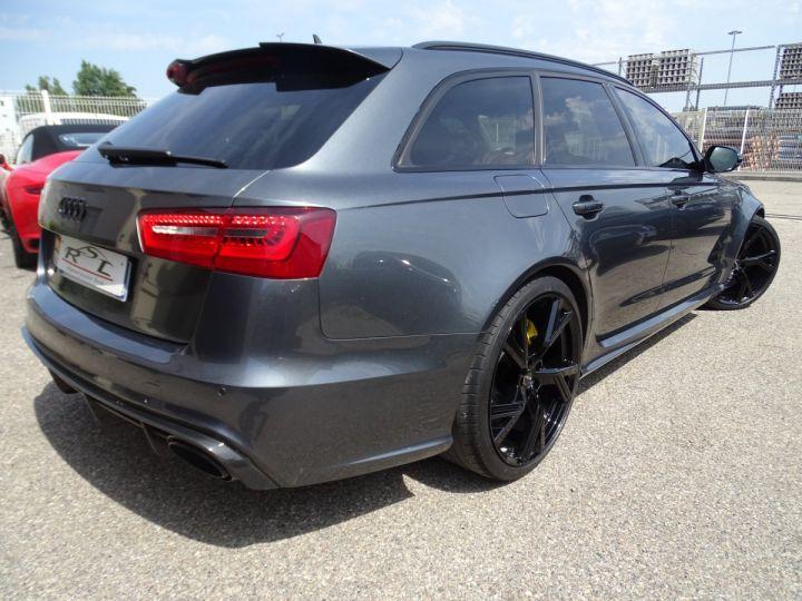 Audi RS6 AVANT 4.0L TFSI 560ps Tipt/Carbone Freins Ceramique  tete haute  gris Daytona met - 10