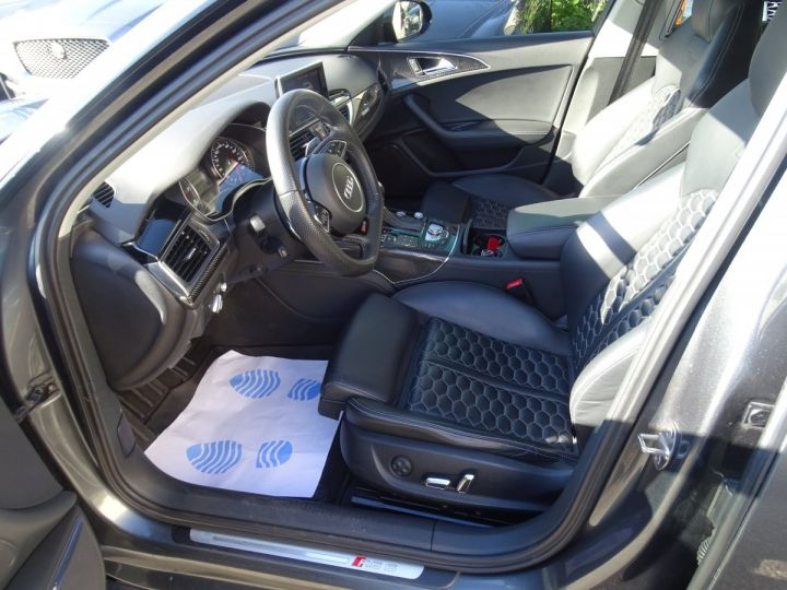 Audi RS6 AVANT 4.0L TFSI 560ps Tipt/Carbone Freins Ceramique  tete haute  gris Daytona met - 11