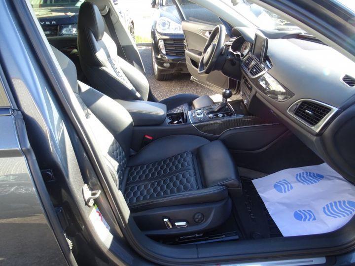 Audi RS6 AVANT 4.0L TFSI 560ps Tipt/Carbone Freins Ceramique  tete haute  gris Daytona met - 12