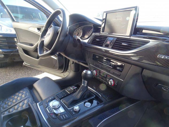 Audi RS6 AVANT 4.0L TFSI 560ps Tipt/Carbone Freins Ceramique  tete haute  gris Daytona met - 14