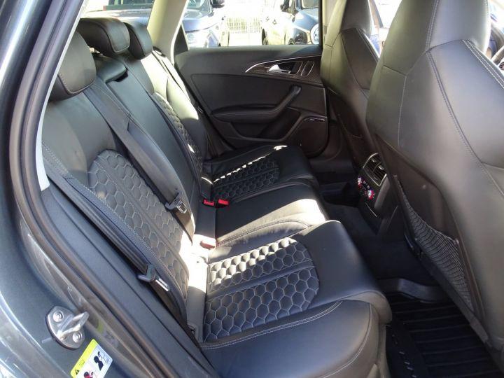 Audi RS6 AVANT 4.0L TFSI 560ps Tipt/Carbone Freins Ceramique  tete haute  gris Daytona met - 16