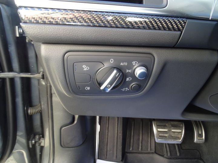 Audi RS6 AVANT 4.0L TFSI 560ps Tipt/Carbone Freins Ceramique  tete haute  gris Daytona met - 18