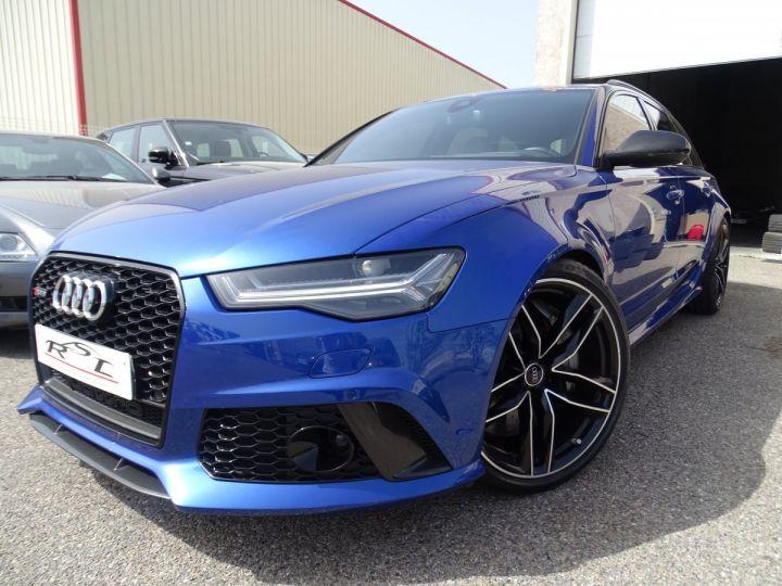Audi RS6 AVANT 4.0L TFSI Tipt 560Ps /Pack Carbone int et ext Echap Sport .... bleu sepang - 1